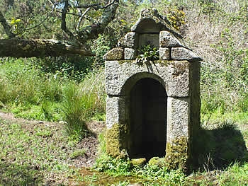St Melor's Well near Linkinhorne village