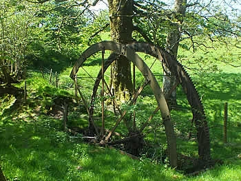 Water Wheel near St Melor's Well, Linkinhorne