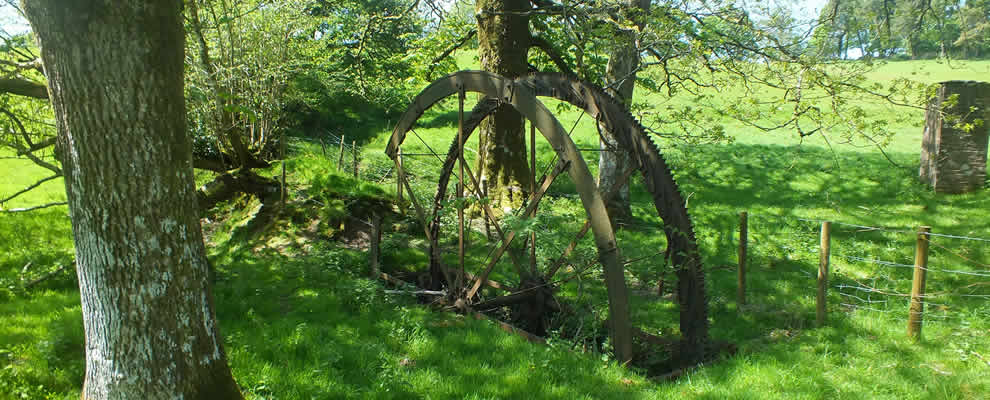 Water Wheel near St Melor's Well at Linkinhorne